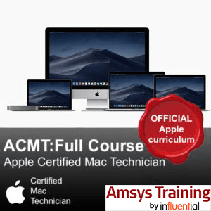 ACMT Apple Certified Mac Technician Training - Amsys Training by Influential