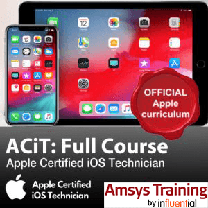 ACiT - Apple Certified iOS Technician Training - Amsys Training by Influential