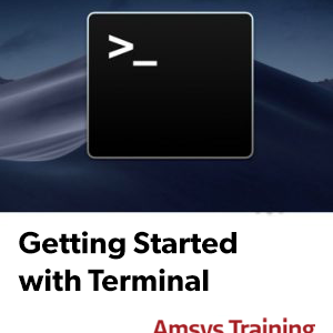 Getting Started with Terminal - mac Command Line course logo