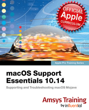 macOS Support Essentials 10.14 Training Course - Amsys Training by Influential