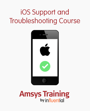 ios support and troubleshooting course