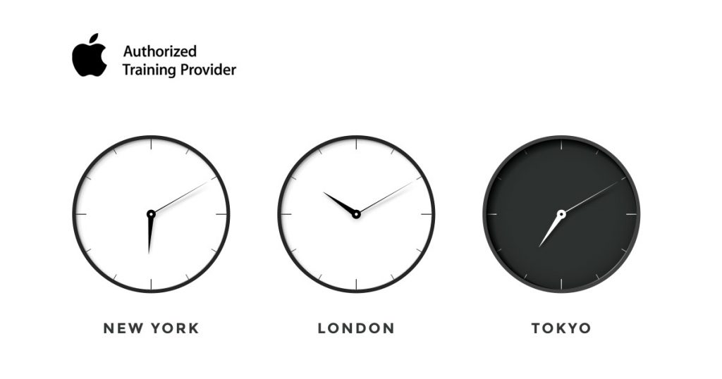 Introducing Apple online training in six time zones - news